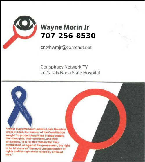 Contact Wayne Morin Jr.